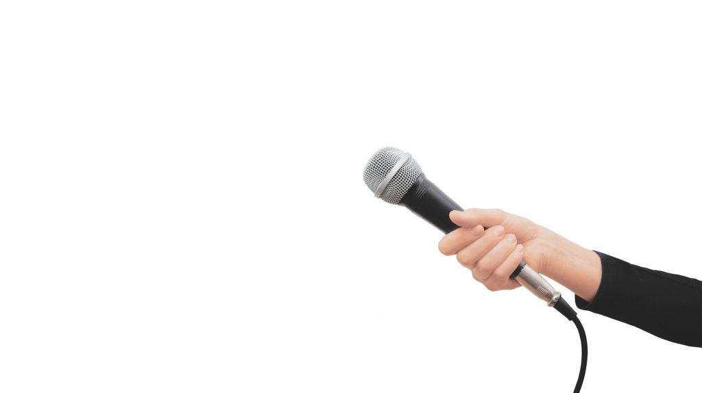microfono traducción bogota