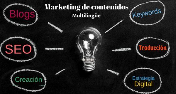 Marketing De Contenidos Multilingüe