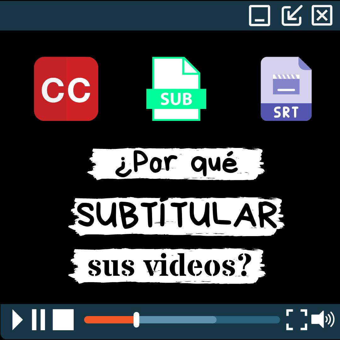 Poner Subtítulos En Los Videos